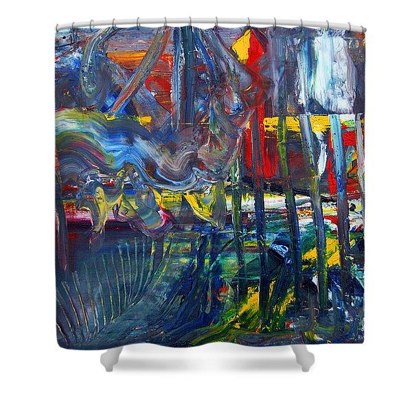 Suzanne's Dream II Shower Curtain