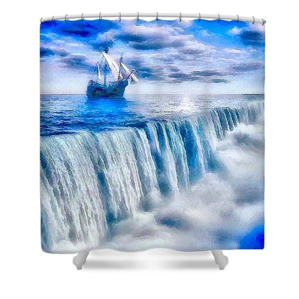 Swallow Falls Shower Curtain