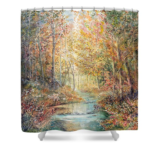 Swallows Creek Shower Curtain