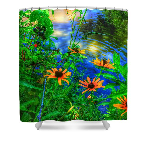 Sweet And Daisy Shower Curtain