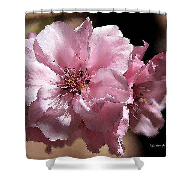 Sweet Blossoms Shower Curtain