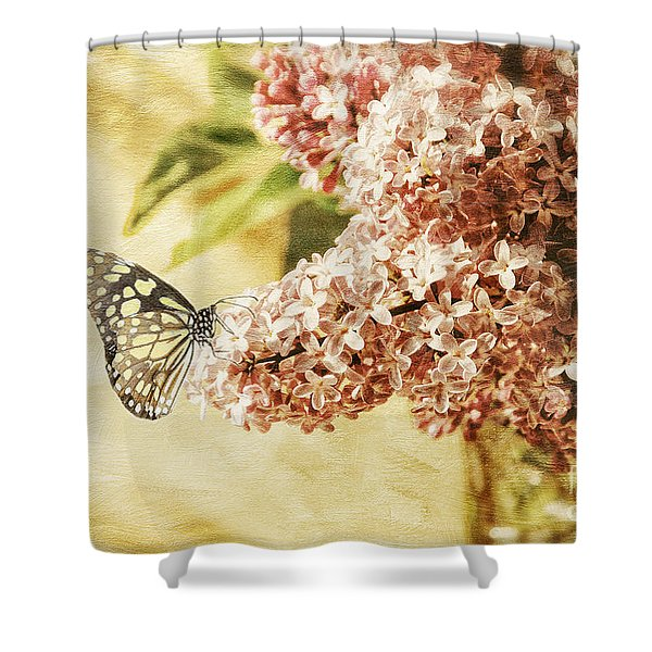 Sweet Lilacs Shower Curtain
