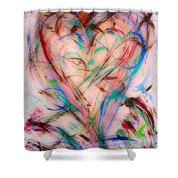 Sweet Love Shower Curtain