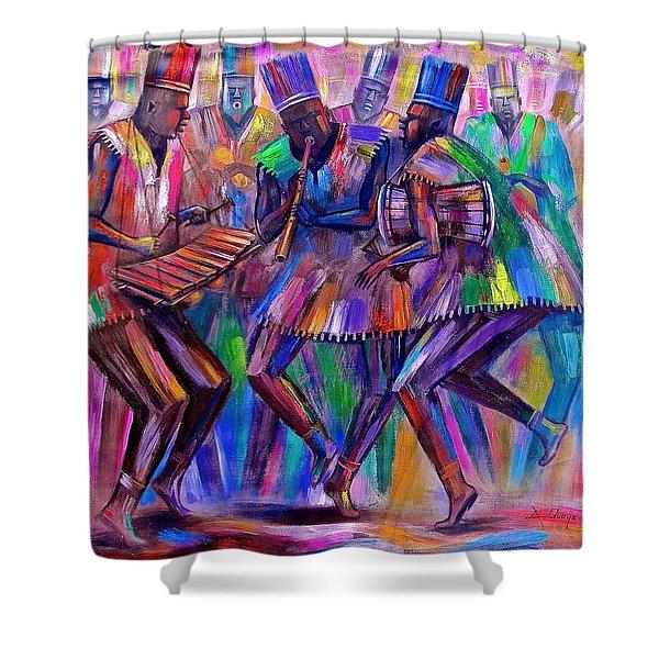 Sweet Rhythms Shower Curtain