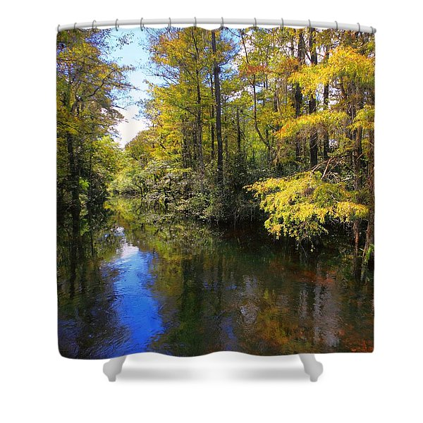 Sweetwater Strand - 3 Shower Curtain