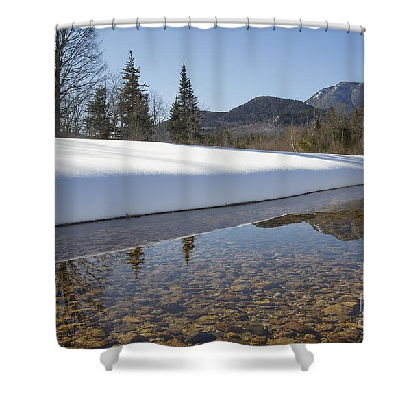 Shower Curtain featuring the photograph Swift River - Albany New Hampshire Usa by Erin Paul Donovan