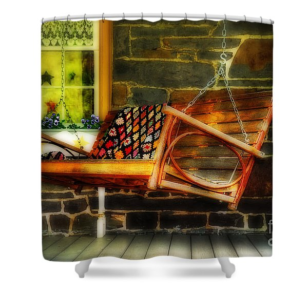 Swing Me Shower Curtain