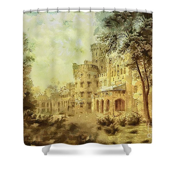 Sybillas Palace Shower Curtain