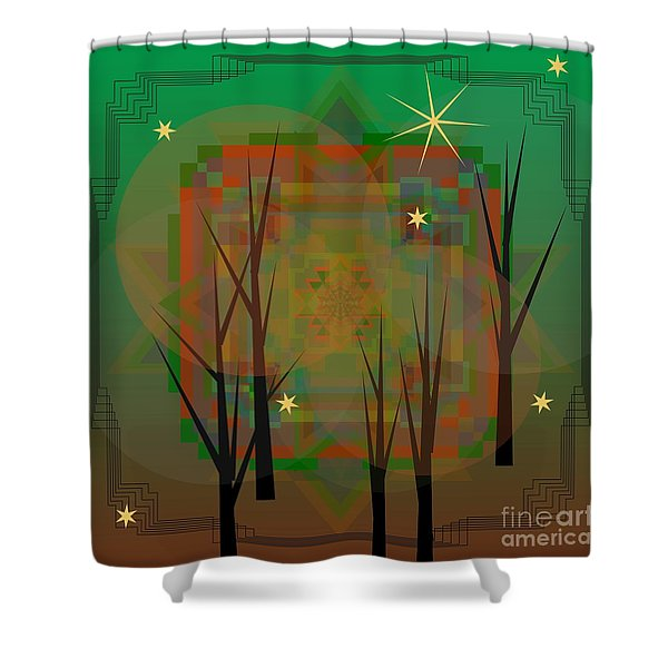 Sylvan 2013 Shower Curtain