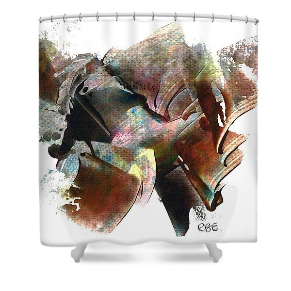 Systems Meltdown Shower Curtain