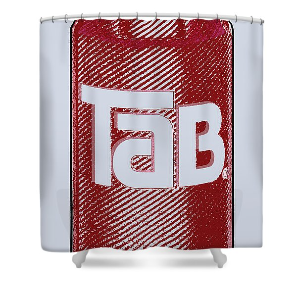 Tab Ode To Andy Warhol Shower Curtain