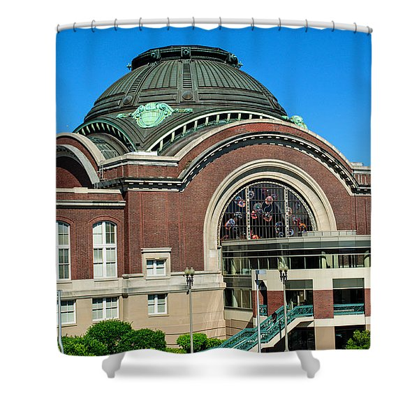 Tacoma Court House At Union Station Shower Curtain