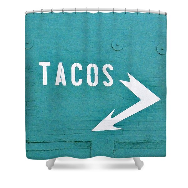 Tacos Shower Curtain