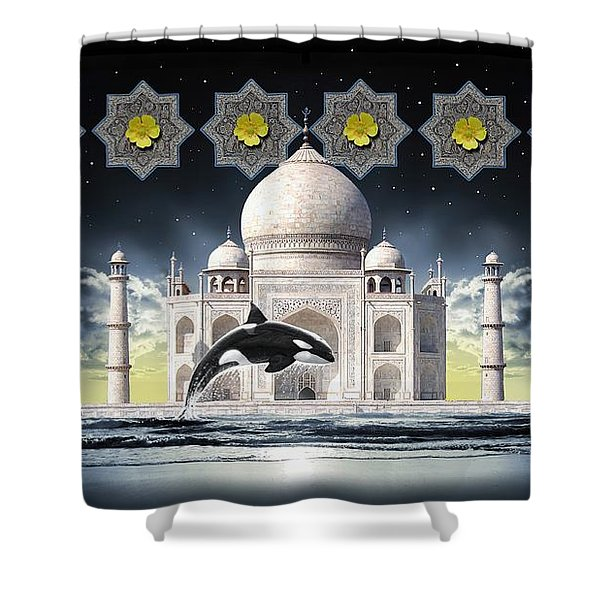 Taj Shower Curtain