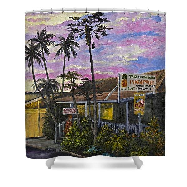 Take Home Maui Shower Curtain