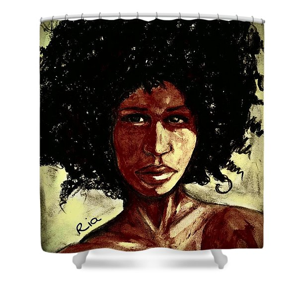 Take Me Or Leave Me Alone Shower Curtain