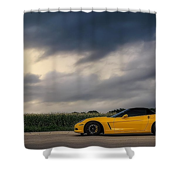 Take The Long Way Shower Curtain