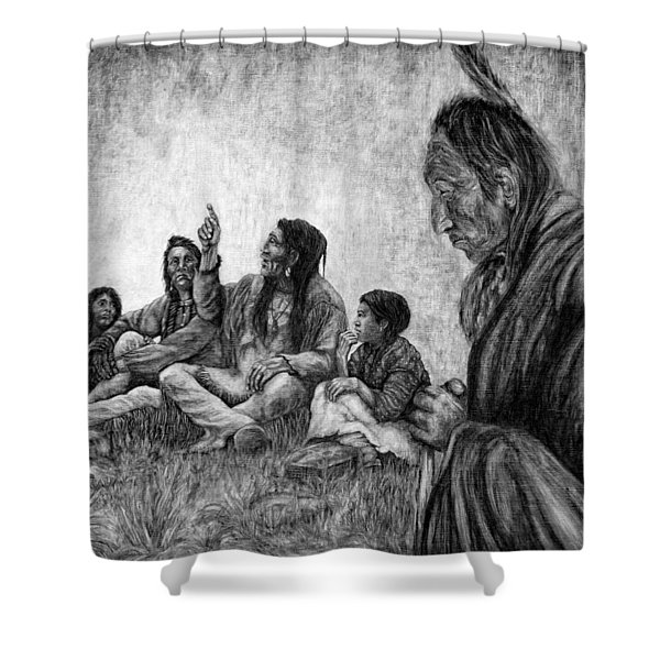 Tales Passed On Shower Curtain