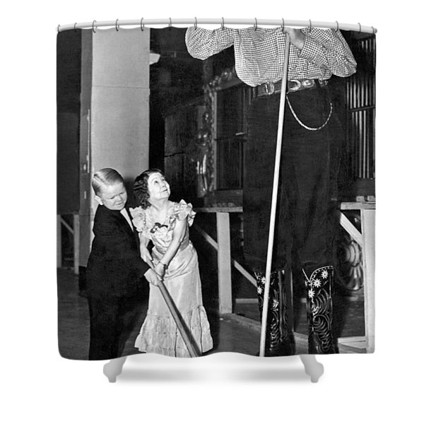 Tall And Short Of It Shower Curtain