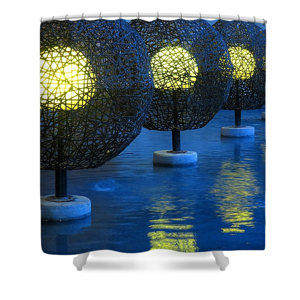 Tamarindo Reflections Shower Curtain