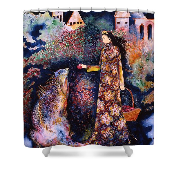 Taming Of The Dragon Shower Curtain