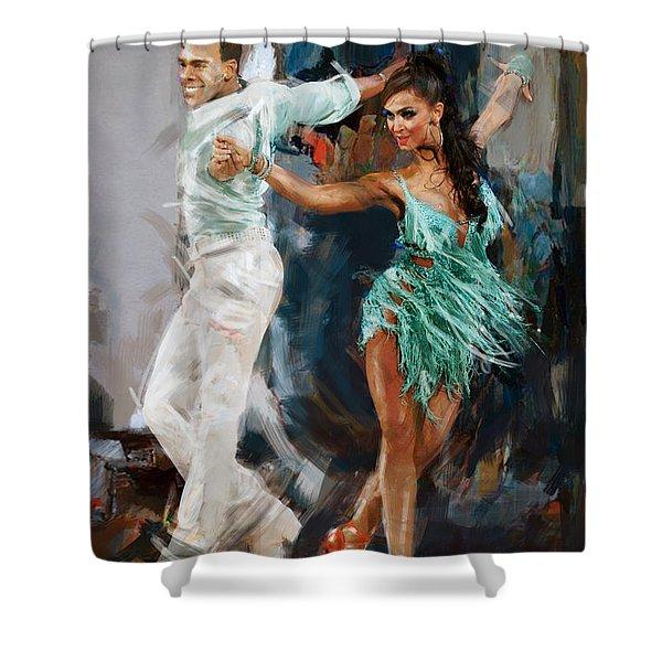 Tango 4 Shower Curtain