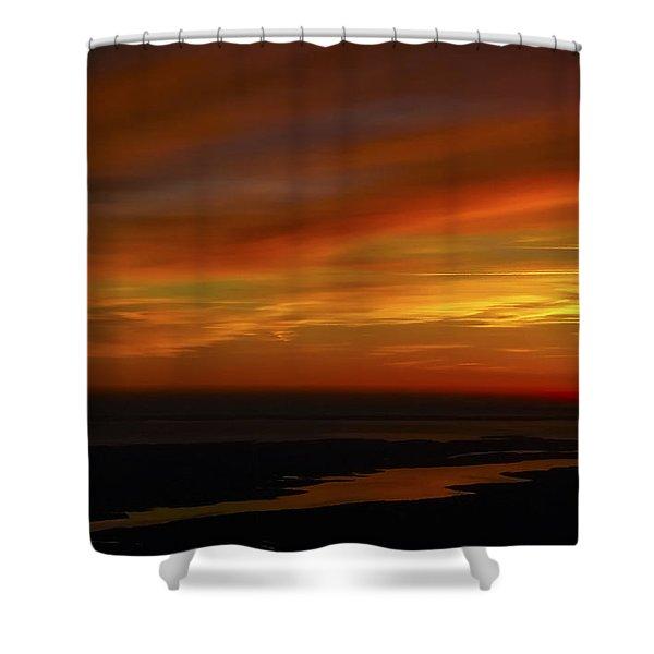 Rappahannock Sunrise II Shower Curtain