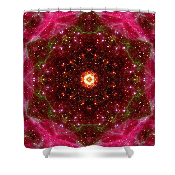 Tarantula Nebula IIi Shower Curtain