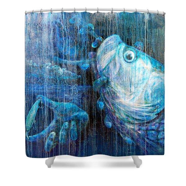 Tarpon Flats Shower Curtain