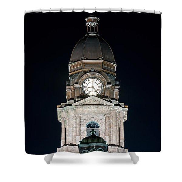 Tarrant County Courthouse V2 020815 Shower Curtain