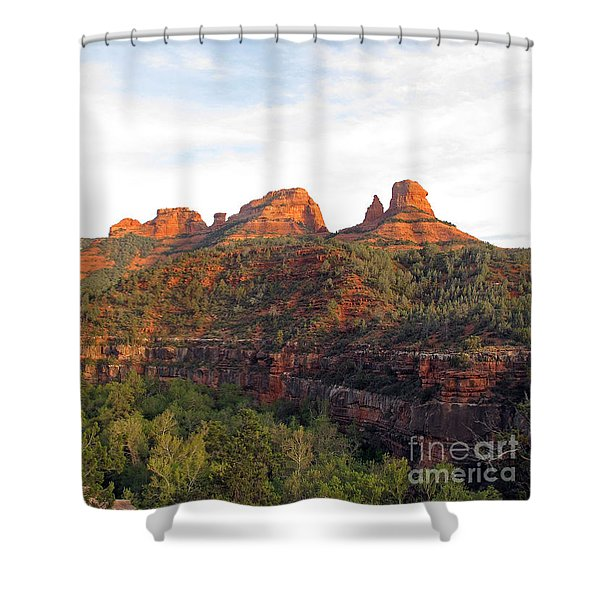 Taste Of Sedona Shower Curtain