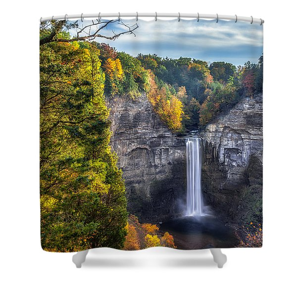 Taughannock Fall 3 Shower Curtain
