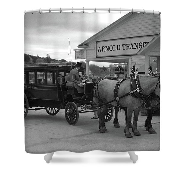 Taxi 10416 Shower Curtain