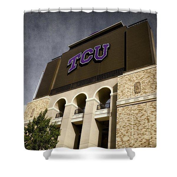 Tcu Stadium Entrance Shower Curtain