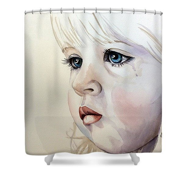 Tear Stains Shower Curtain