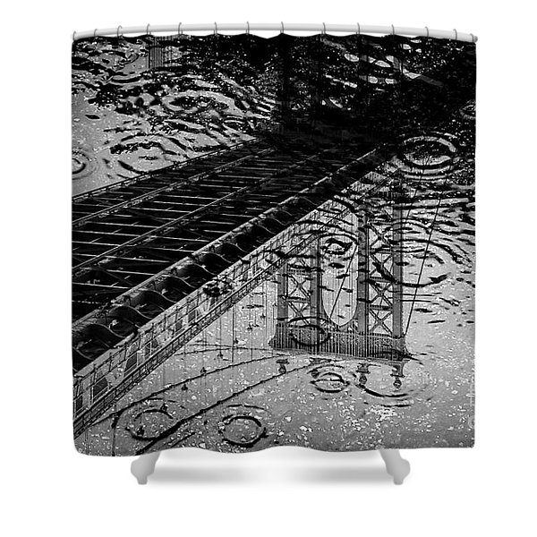 Tears Of New York Shower Curtain