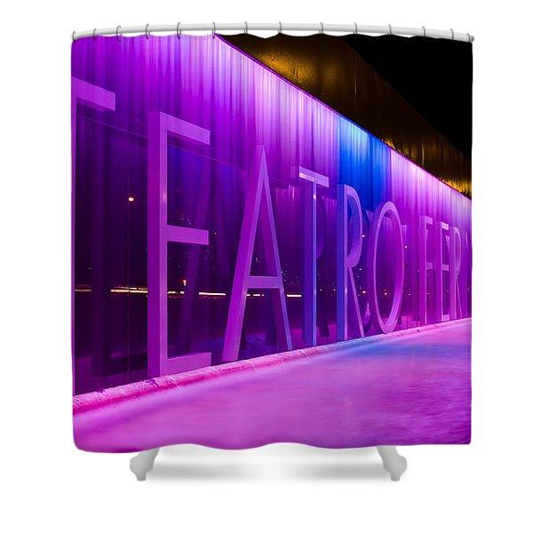 Teatro Fernan Gomez Shower Curtain