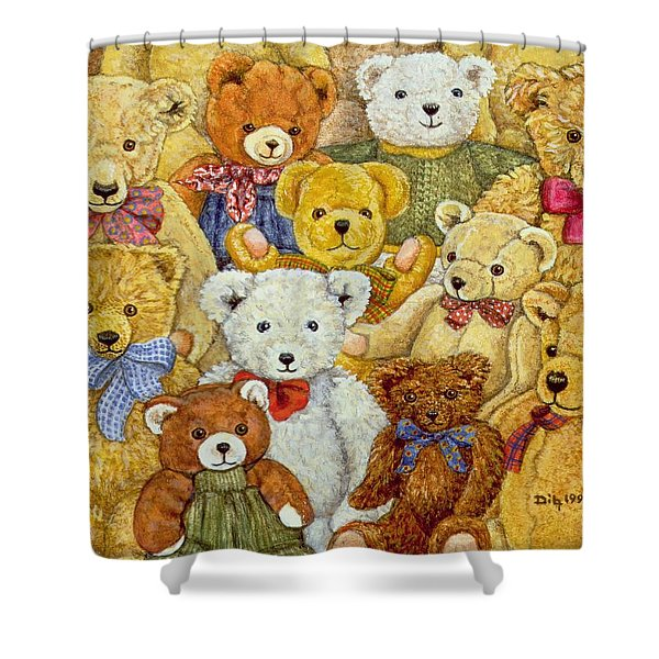 Ted Patch Shower Curtain
