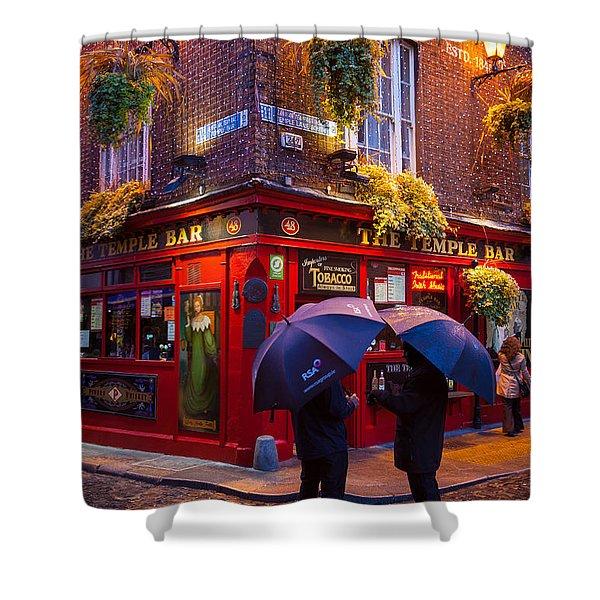 Temple Bar Shower Curtain