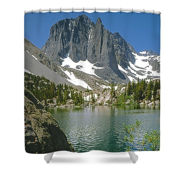 2m6437-temple Crag Shower Curtain