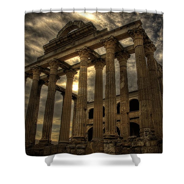 Temple Of Diana Shower Curtain
