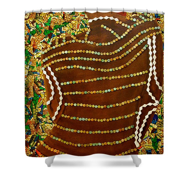 Temple Of The Goddess Eye Vol 2 Shower Curtain