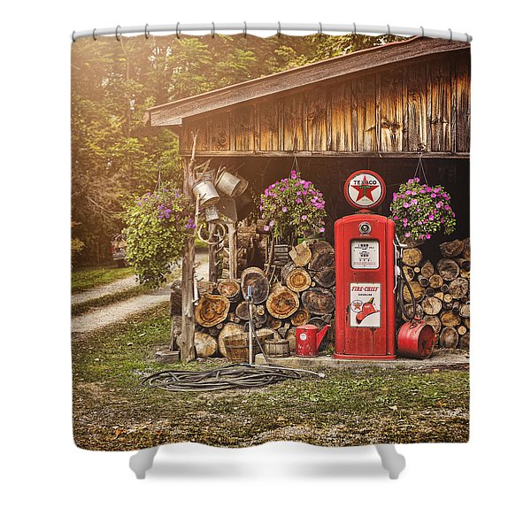 Ten Cents A Gallon Shower Curtain