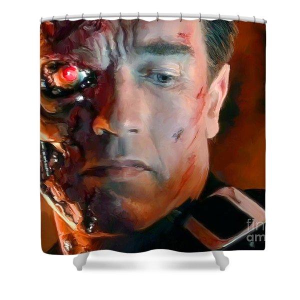 Terminator Shower Curtain