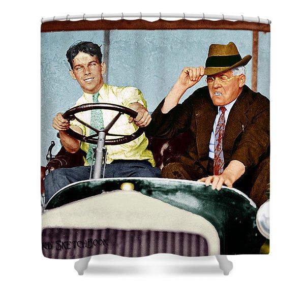 Test Drive Shower Curtain