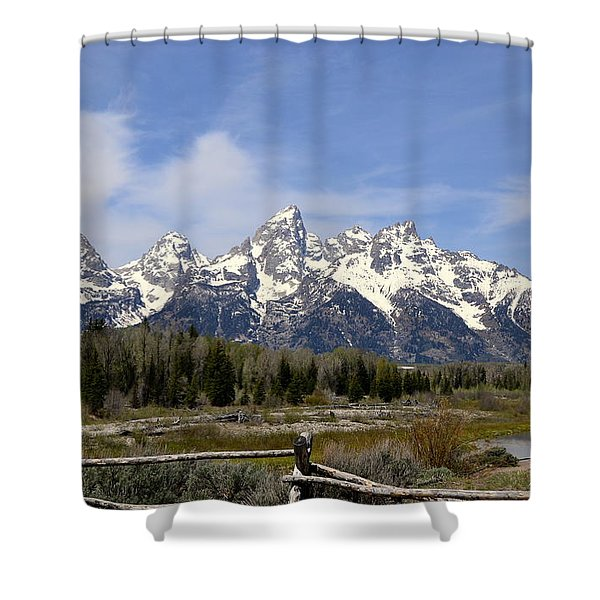 Teton Majesty Shower Curtain