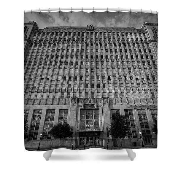 Texas And Pacific Lofts Shower Curtain