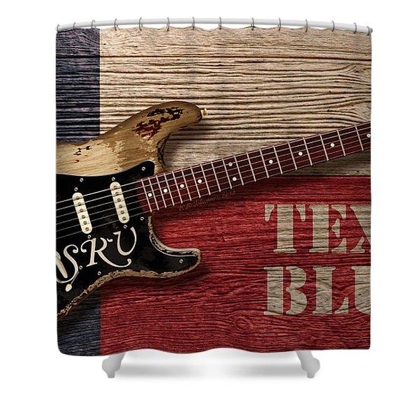 Texas Blues Shower Curtain