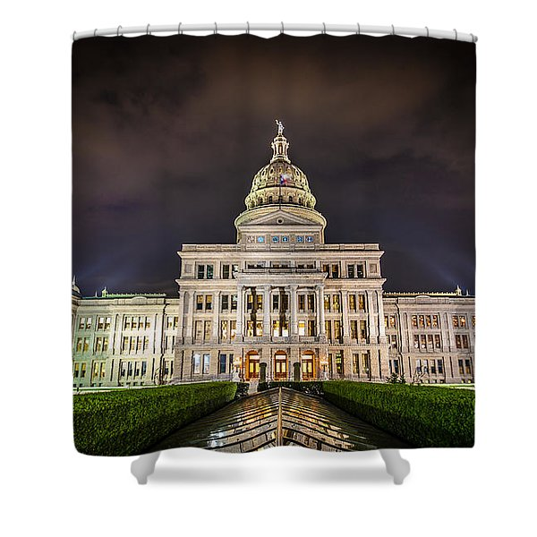 Texas Capitol Building Shower Curtain