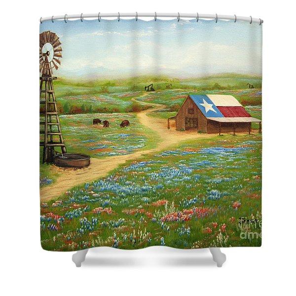 Texas Countryside Shower Curtain